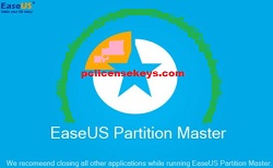 EaseUS Partition Master 13.5 Crack With Serial Key Free Download