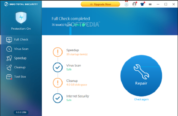 360 Total Security 10.8.0.1112 Crack With License Key Free Download