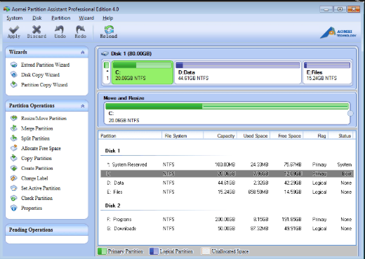 AOMEI Partition Assistant 8.9 Crack With Serial Key Free Download