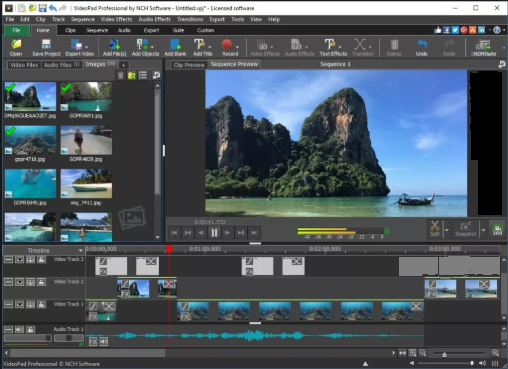 VideoPad Video Editor 10.78 Crack With Registration Key 2021 [Latest] Free