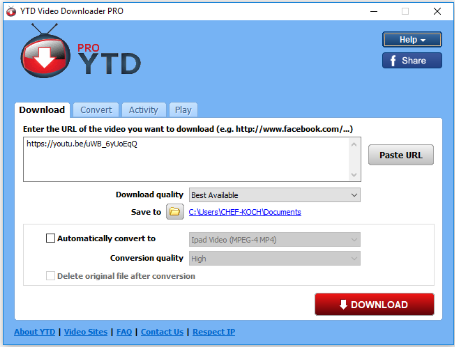 YTD Video Downloader Pro 6.10.17 Crack With Serial Key 2019 Free Download