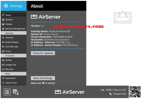 AirServer 7.2.0 Crack With Activation Code 2019 [Mac/Win] Free