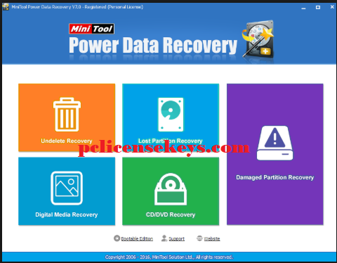 MiniTool Power Data Recovery 8.8 Crack With Keygen Free Download