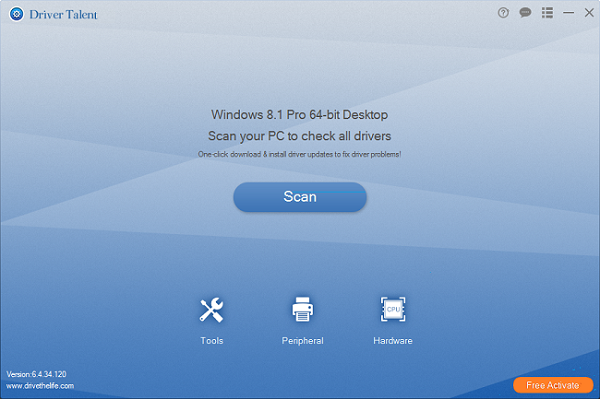 Driver Talent Pro 7.1.32.4 Crack With Activation Key Free Download