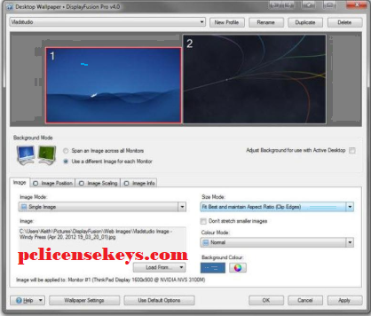 DisplayFusion 9.5 Crack With License Keygen 2019 Free Download