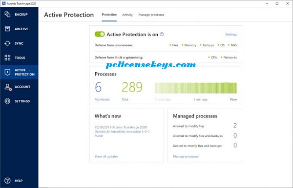 Acronis True Image 2020 Crack With Keygen Free Download