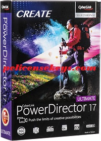 CyberLink PowerDirector 17.0.3005.0 Crack With Keygen Free
