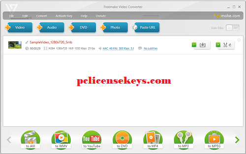 Freemake Video Converter 4.1.10 Crack With Activation Key Free Download