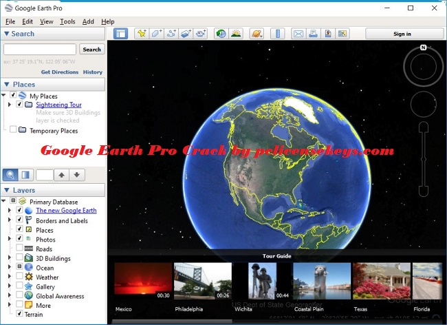Google Earth Pro 7.3.2.5776 Crack With License Key 2019 Free