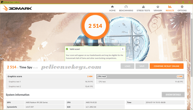 3DMark 2.10.6762 Crack With Keygen 2019 Free Download