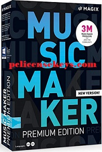 Magix Music Maker 2022 Crack With License Key [Latest] Free Download