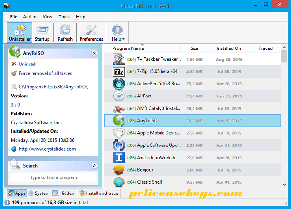 Uninstall Tool 3.5.9 Crack With Serial Key Full Free Download