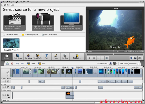 AVS Video Editor 9.5.1 Crack With Activation Key Free Download