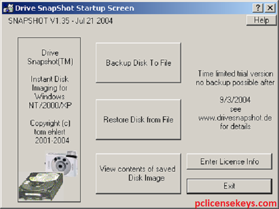 Drive Snapshot 1.48 Crack With License Key 2021 Free Download