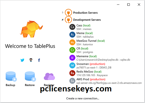 TablePlus 4.3.5 Crack With License Key [Win/Mac] Free Download