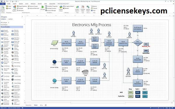 Microsoft Visio Pro 2021 Crack With Product Key [Latest] Free Download