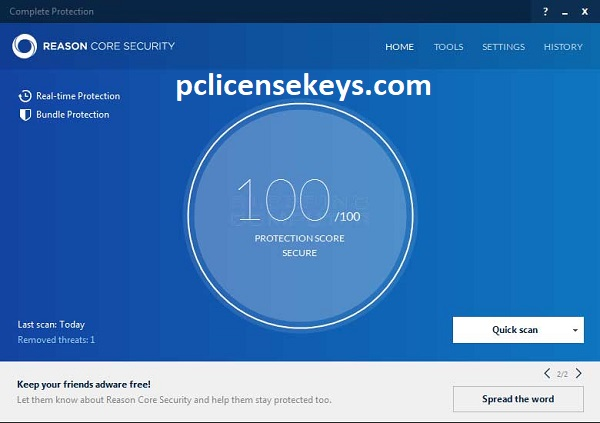 Reason Core Security 3.2.0 Crack With License Key 2021 Free Download
