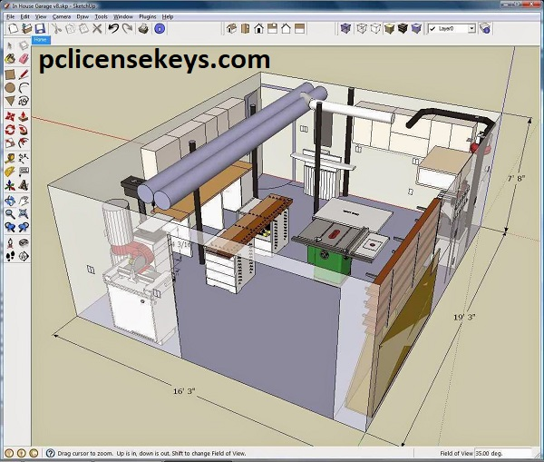 SketchUp Pro 21.0.339 Crack With License Key 2021 Free Download