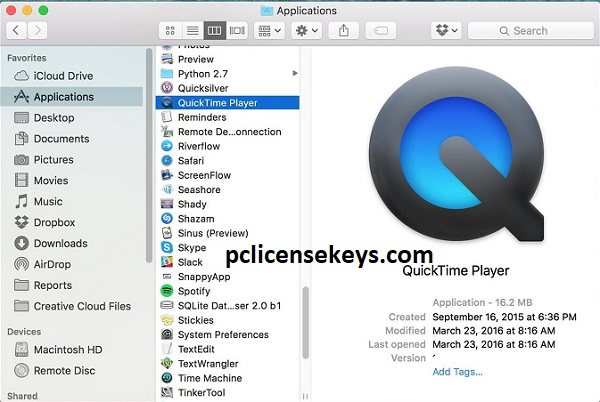 QuickTime Player Pro 7.7.9 Crack With Serial Key 2022 Free Download