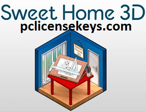 Sweet Home 3D 6.6 Crack With Serial Key 2021 Full Version Free
