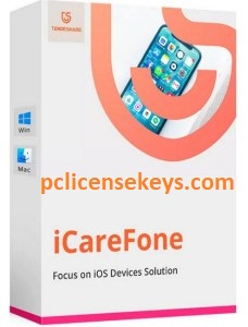 Tenorshare iCareFone 7.8.5 Crack With Registration Code 2021 Free