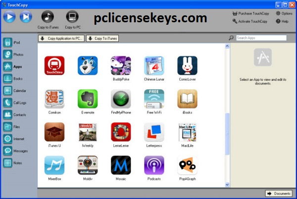 TouchCopy 16.70 Crack With Activation Code 2021 Free Download